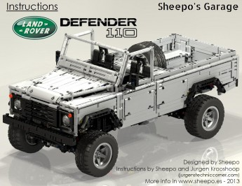 Land Rover Defender 110 por sheepo