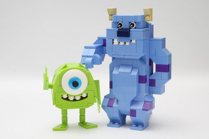 Monsters University por legorobo:waka http://www.flickr.com/photos/legorobo/ en Flickr