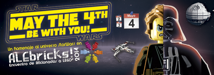 May the 4th LEGO StarWars ALEbricks