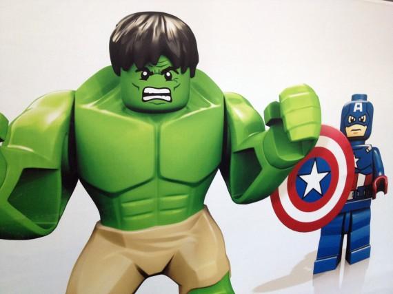 Hulk y el Capitán América