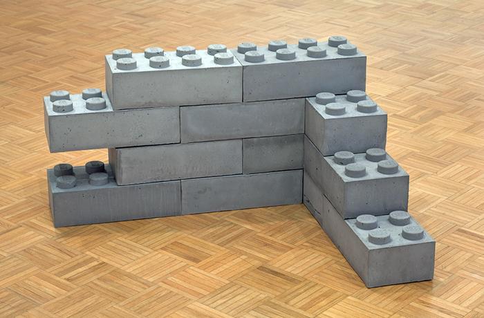 LEGO de hormigón