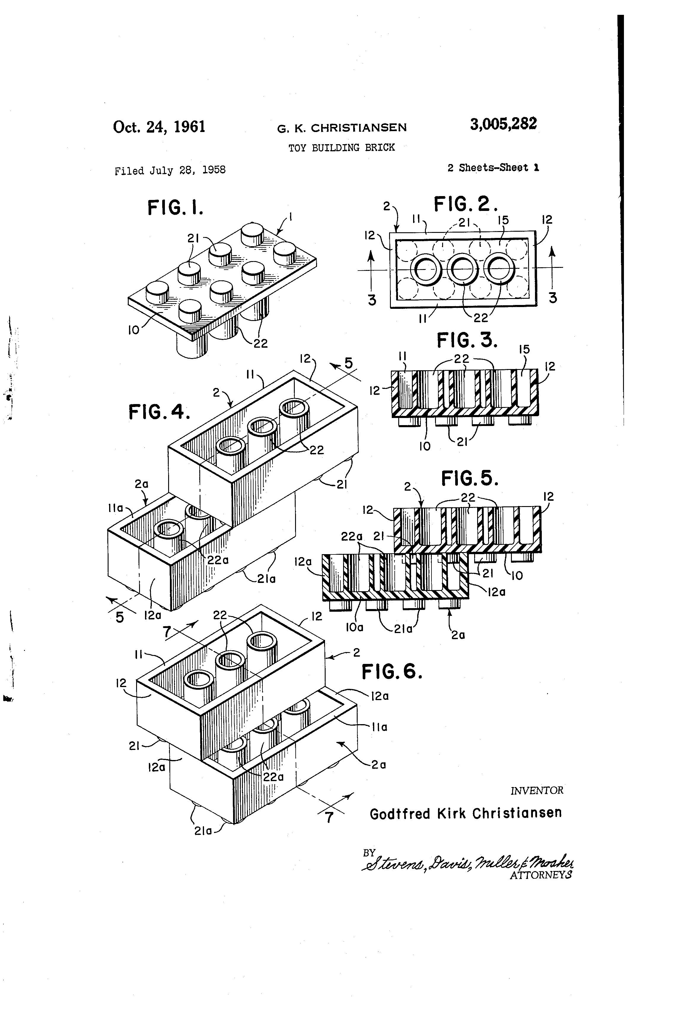 feliz cumplea u00f1os a la patente del ladrillo lego