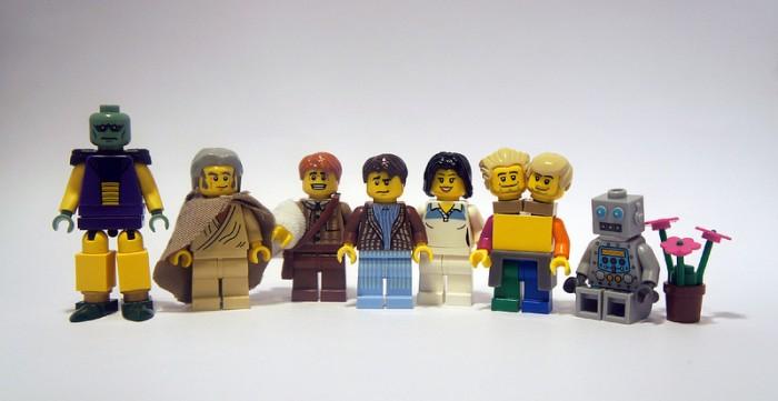 LEGO Towel Day