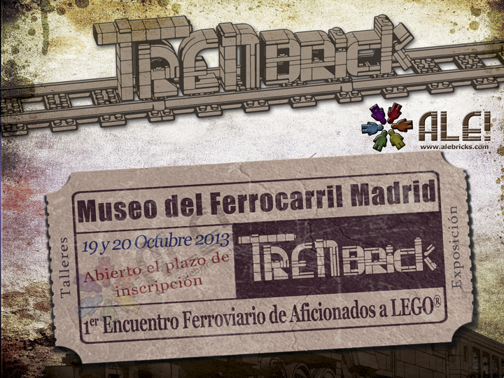 TRENbrick Primer encuentro ferroviario de aficionados a LEGO