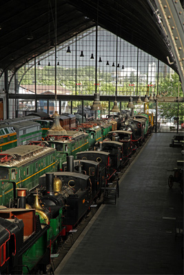 Museo Ferrocarril Interior