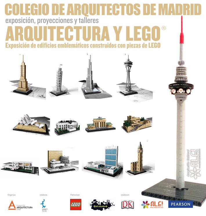 COAM Arquitectura y LEGO
