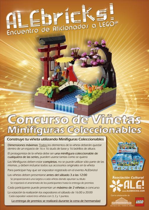 Concurso-Minifiguras ALEbricks! 2014