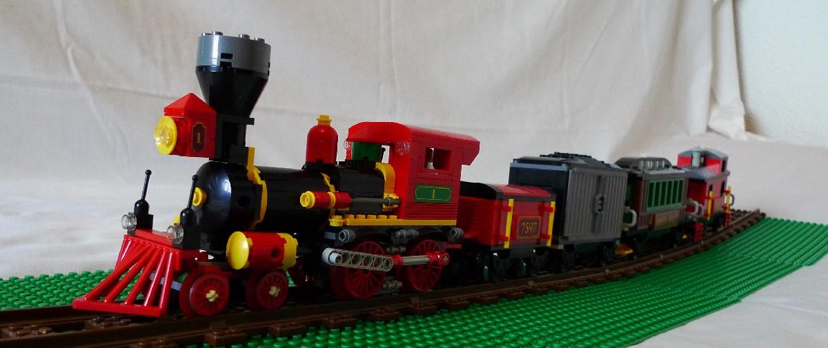 8bb6478616c57 Tren del Oeste (7597) de Toy story en escala Minifig – Asociación ...
