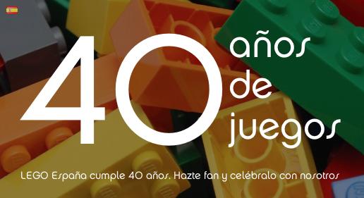 40 aniversario LEGO
