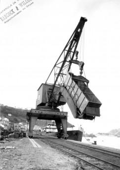 El puerto carbonero de Pravia era el destino del mineral de los valles de Turón y Aller.