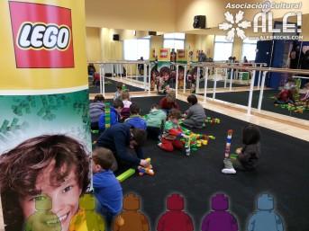 Talleres de construcción LEGO evento aficionados ALE!