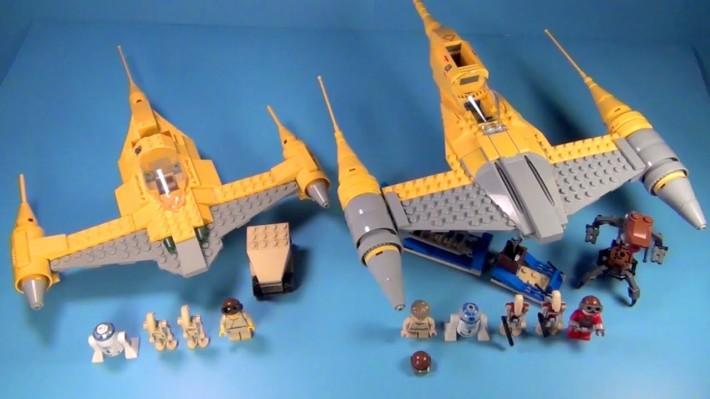 LEGO 7141 vs 7877  Imagen orinal: BrickQueen & BrickTitan en Youtube