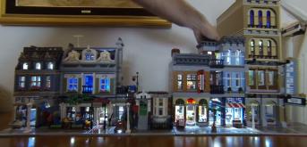 Iluminación Edificios Modulares LEGO