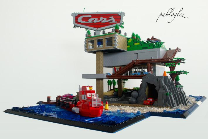 LEGO Cars Island